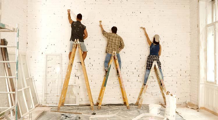 Исправление стен