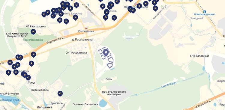 ЖК Рассказово (инфраструктура)