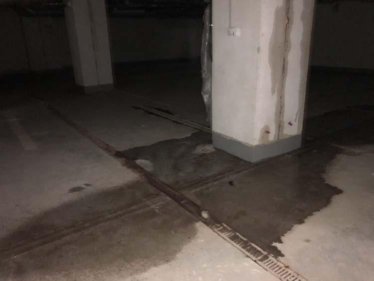 Подтопленный паркинг 6 лот Зиларт