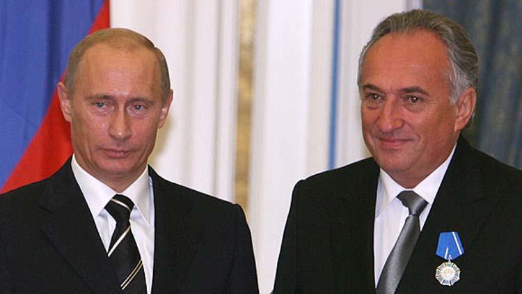 Анисимов и Путин