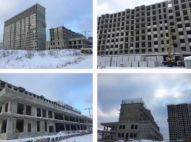 ЖК Легендарный квартал на березовой аллее - ход строительства декабрь 2018
