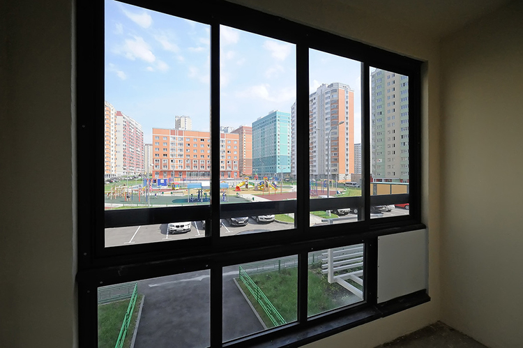 Новостройки серии ДомРик (окна, высота потолков)