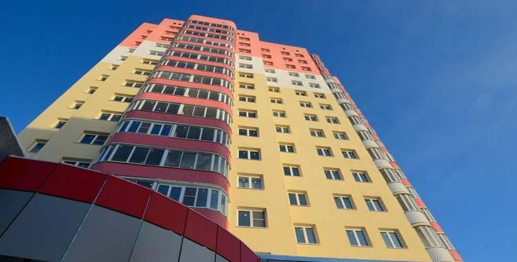 ЖК Новотроицкий (фасад)