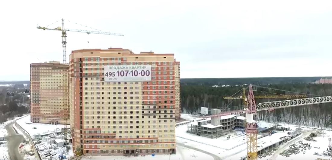 """Ход строительства ЖК """"Эдельвейс-Комфорт"""": февраль 2017"""