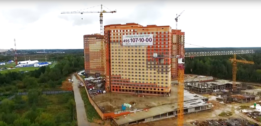 """Ход строительства ЖК """"Эдельвейс-Комфорт"""": сентябрь 2016"""